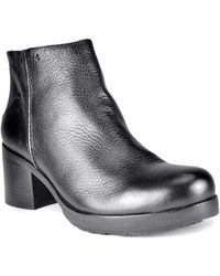 Gentle Souls Darcy Leather Ankle Boots - Lyst