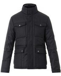Gucci Wool-twill Down Field Jacket - Lyst