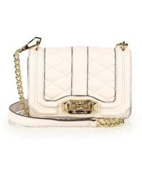 Rebecca Minkoff Mini Quilted Love Crossbody Bag - Lyst