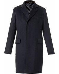 Gucci Contract Notch-Lapel Wool Coat - Lyst