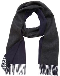 Mulberry Double Faced Stripe Scarf - Lyst
