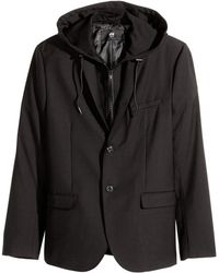 H&M Jacket With A Hood - Lyst