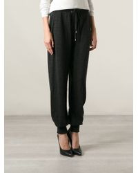 Jean Paul Gaultier - Knitted Track Trousers - Lyst