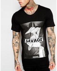 Eleven Paris X Life Is A Joke Savage Bunny T-Shirt - Lyst