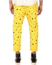 DSquared² Embroidered Hockney Pant - Lyst