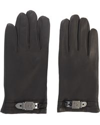 BCBGMAXAZRIA - Plate-Buckle Glove - Lyst