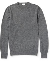 Tomas Maier Crew Neck Cashmere Sweater - Lyst