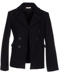 Celine Coat black - Lyst