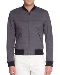 Dolce & Gabbana Jersey Knit Bomber - Lyst