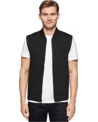 Calvin Klein | Premium Quilted Vest | Lyst