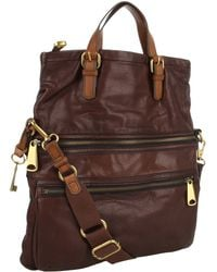 Fossil Explorer Tote - Lyst