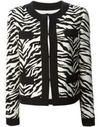 Moschino Cheap & Chic Zebra Jacket - Lyst