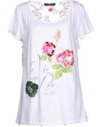 Twin-set Simona Barbieri T-Shirt - Lyst