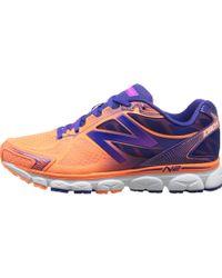 New Balance Orange W1080V5 - Lyst