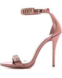 B Brian Atwood Ciara Jeweled Sandals Light Pink - Lyst