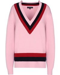 Jonathan Saunders Long Sleeve Sweater - Lyst