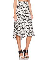 A.L.C. Black Corso Skirt - Lyst