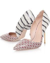Kurt Geiger Bond High Heel Court Shoes - Lyst