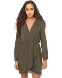 Ammo - Cross Front Dress - Lyst