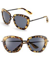 Isaac Mizrahi New York - 53mm Geometric Sunglasses - Lyst