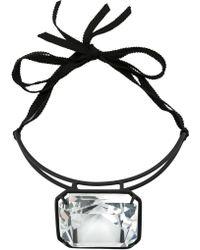 Rosie Assoulin - Centre Crystal Stiff Necklace - Lyst