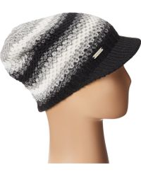 Calvin Klein Ombre Waffle Knit Cabbie Hat - Lyst