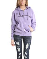 Blue&Cream Lamptons Sun Hoody In Purple purple - Lyst