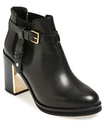Topshop 'Mine' Ankle Boot - Lyst