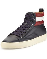 Bally Heaven Leather High Top Sneaker - Lyst