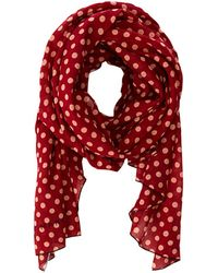 Marc By Marc Jacobs Mini Dot Print Scarf with Pop - Lyst