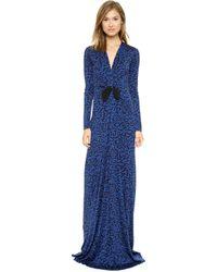 Issa Cilla Dress Blue - Lyst