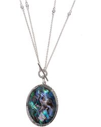 Judith Jack - Marble Toggle Necklace - Lyst