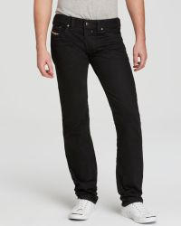Diesel Jeans - Safado Slim Straight Fit in 8qu - Lyst