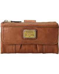 Fossil - Emory Leather Purse - Lyst