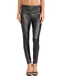 Mink Pink Easy Rider Faux Leather Leggings - Lyst