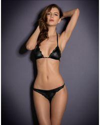 Agent Provocateur Berry Bikini Bra - Lyst