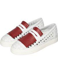 La Perla Shoes Slip On Sneakers - Lyst