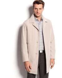 Calvin Klein Park Singlebreasted Raincoat - Lyst