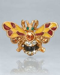 Jay Strongwater Nigel Bumble Bee Pin - Lyst