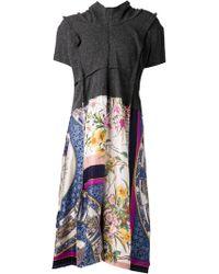 Comme Des Garçons Printed Dress - Lyst