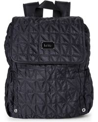 Nicole Miller - Black City Life Quilted Backpack - Lyst