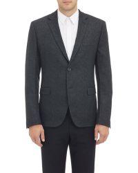 Fendi - Pixelated Flannel Two-Button Sportcoat - Lyst
