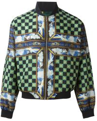 Jean Paul Gaultier Junior Gaultier Printed Bomber Jacket - Lyst