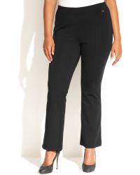Calvin Klein Plus Size Plus Size Pullon Bootcut Pants - Lyst