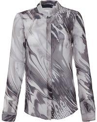 Marna Ro Silk Talena Printed Blouse - Lyst