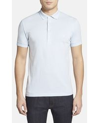 French Connection 'Basic Sneezy' Slim Fit Polo - Lyst