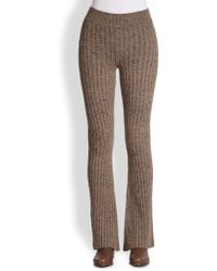 Marc Jacobs High-Waist Cashmere Pants - Lyst