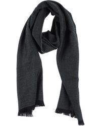 Dior Black Oblong Scarf - Lyst