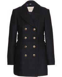Burberry Brit Newmont Wool-blend Coat - Lyst