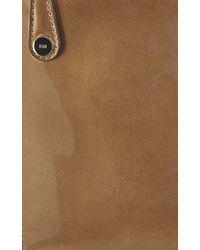 Karen Millen | Metallic Patent Pochette | Lyst